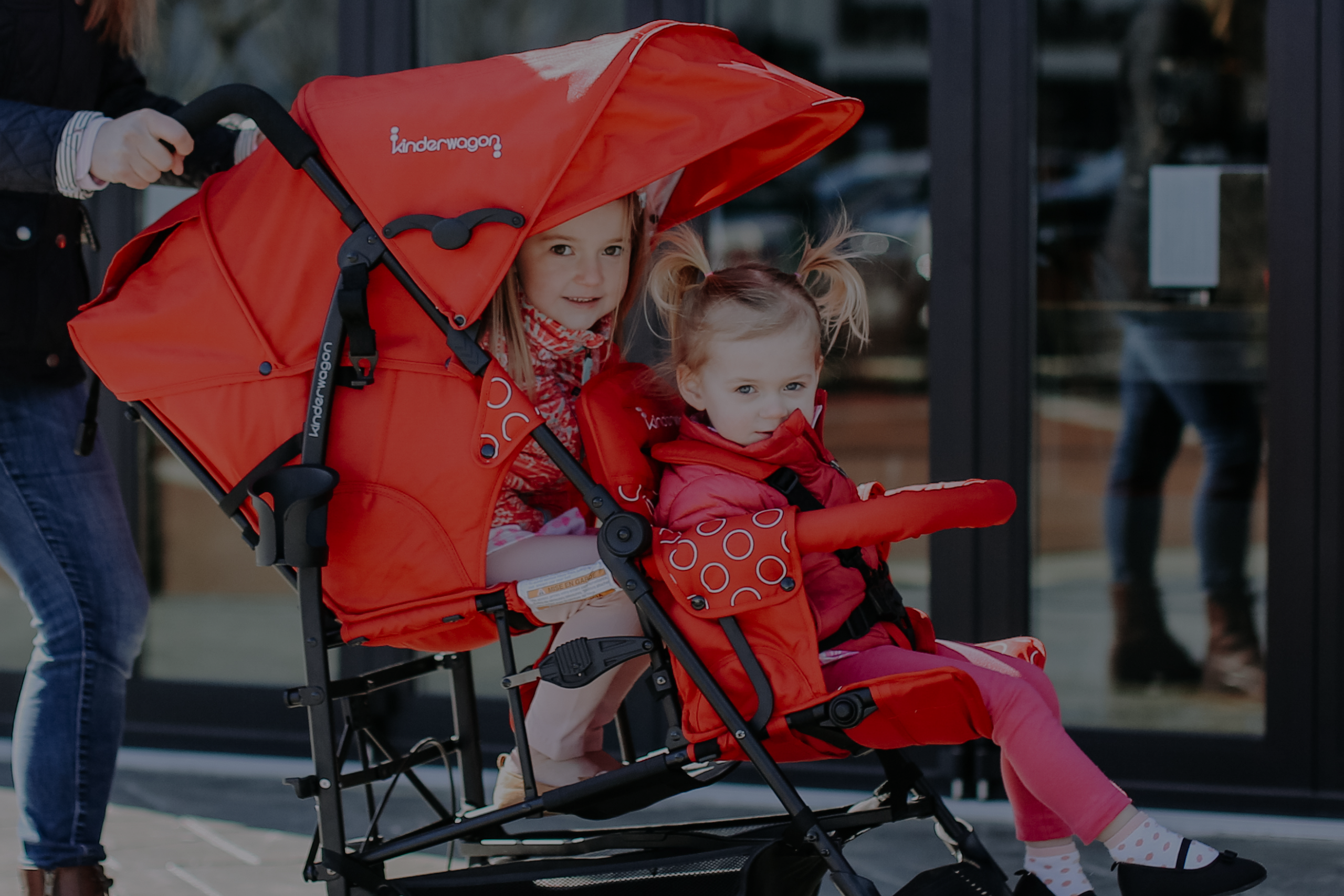 best double tandum stroller for two kids