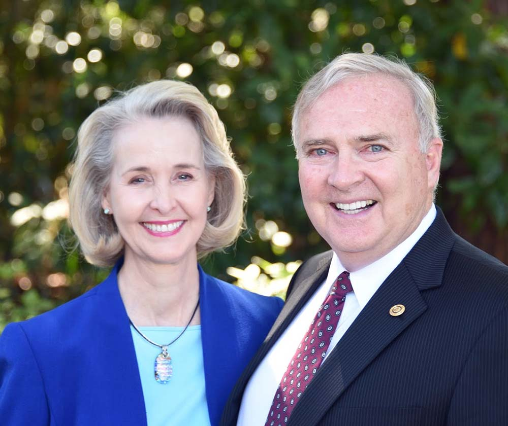 District Governor D6980 Mike Vernon and wife Susan
