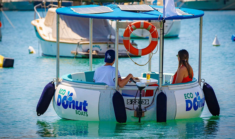 Eco Donut Boats