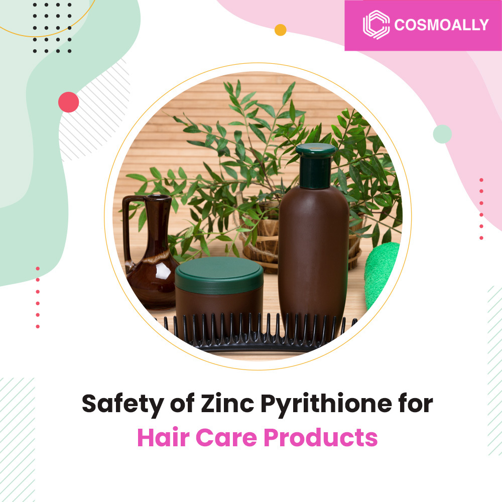 Safety of Zinc Pyrithione for Hair Care Products