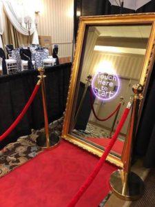 Formal Elegant magic mirror photo booth