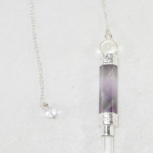 Amethyst Wand Pendulum