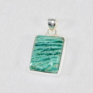 Amazonite Rectangle Pendant