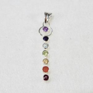 Chakra Pendant Gemstones
