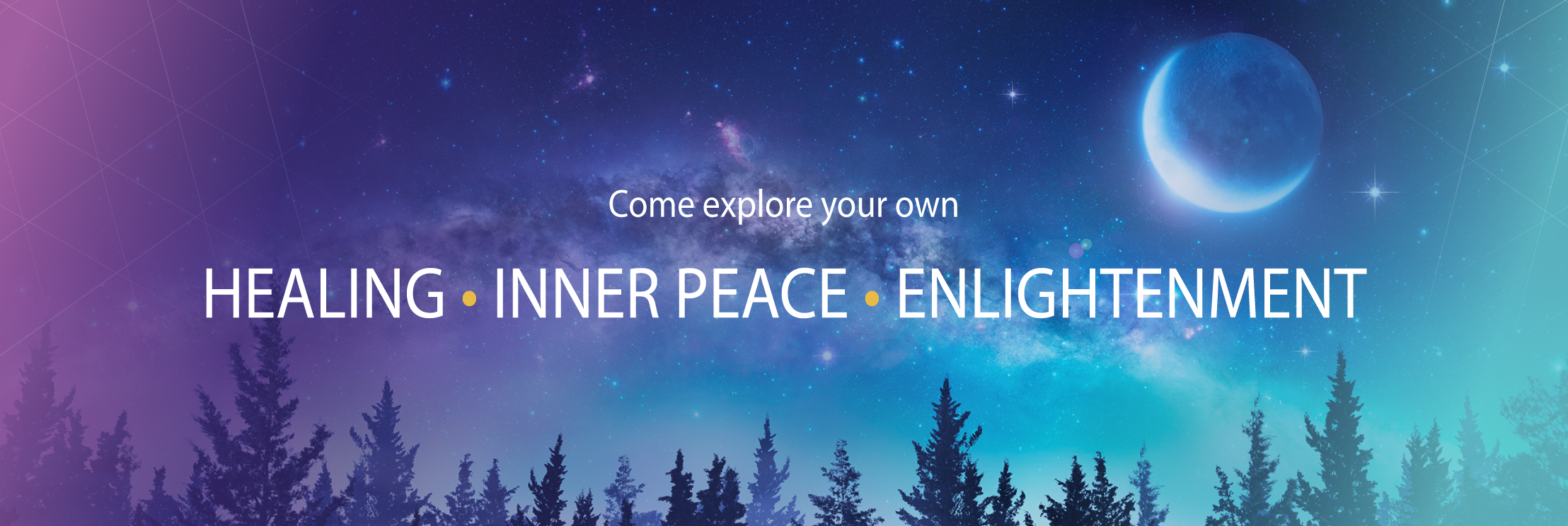 Come Explore Your Own Healing, Inner Peace, and Enlightenment