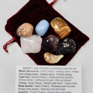 Chakra Kit Anxiety and Stress Clearing