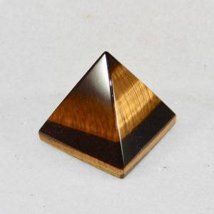 Tiger Eye Small Pyramid