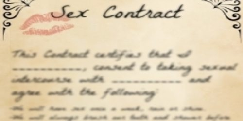 The Sex Contract: Every Couple Has One!