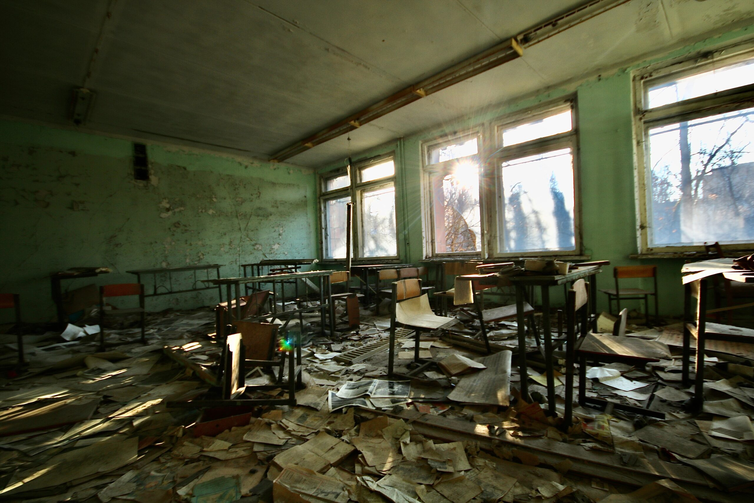 The Empty Classrooms of Qalamoun