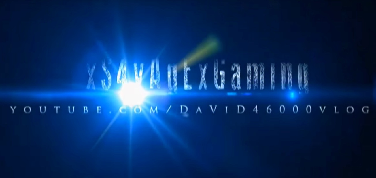 A screen capture of the xS4vAgExGaming Introduction Screen