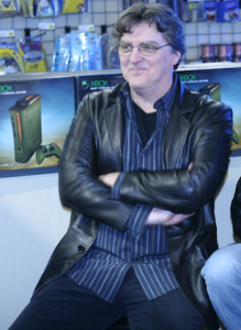 Marty O'Donnell at the release of Halo 3