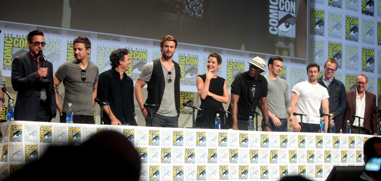 The Age of Ultron cast at San Diego Comic Con