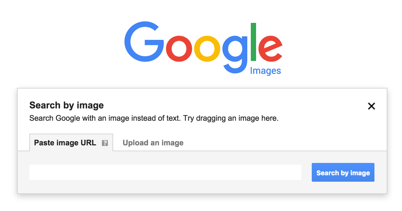 Search by Image with Google Images