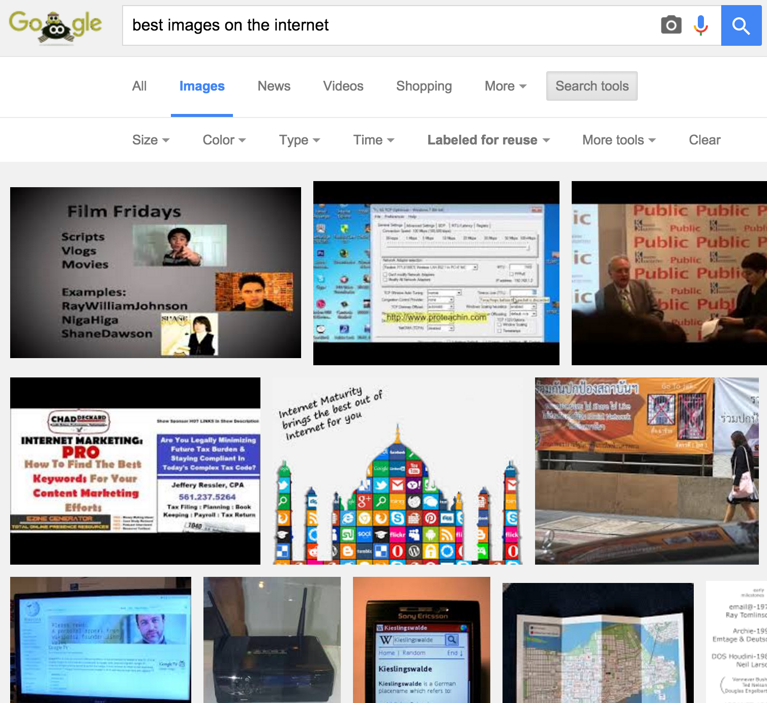 How to use 'Labeled for reuse' with Google Images in order to avoid copyright infringement