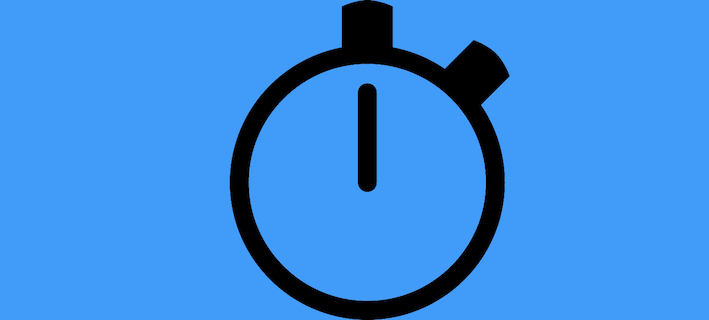 An artistic version of a stopwatch.