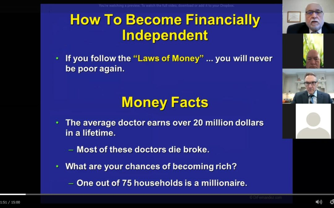 "Featured Zoom: The Laws of ""Money"""