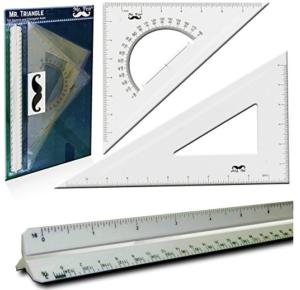Plastic Scale set