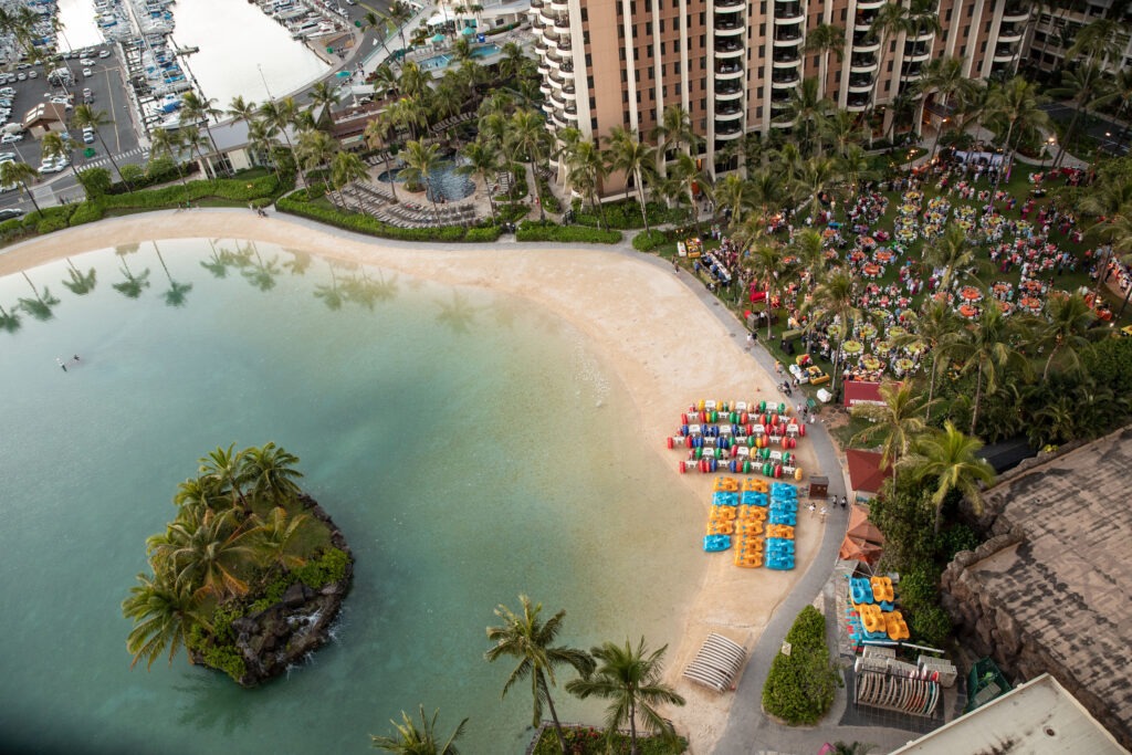 Hilton Hawaiian Village Lagoon