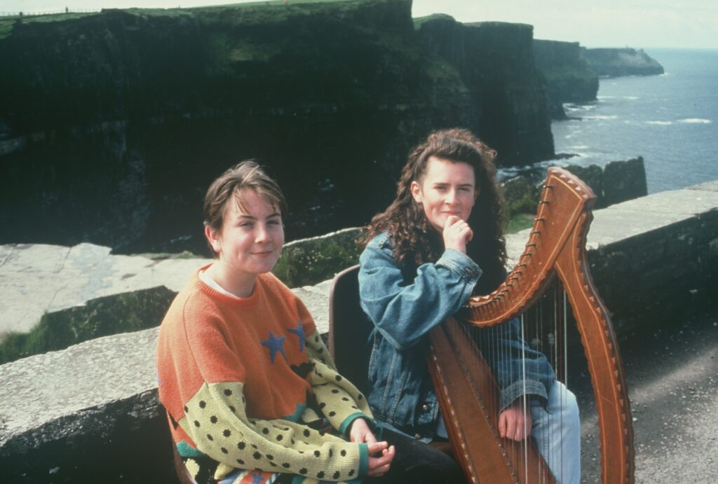 Mulrooney Sisters, Cliffs of Moher, Ireland