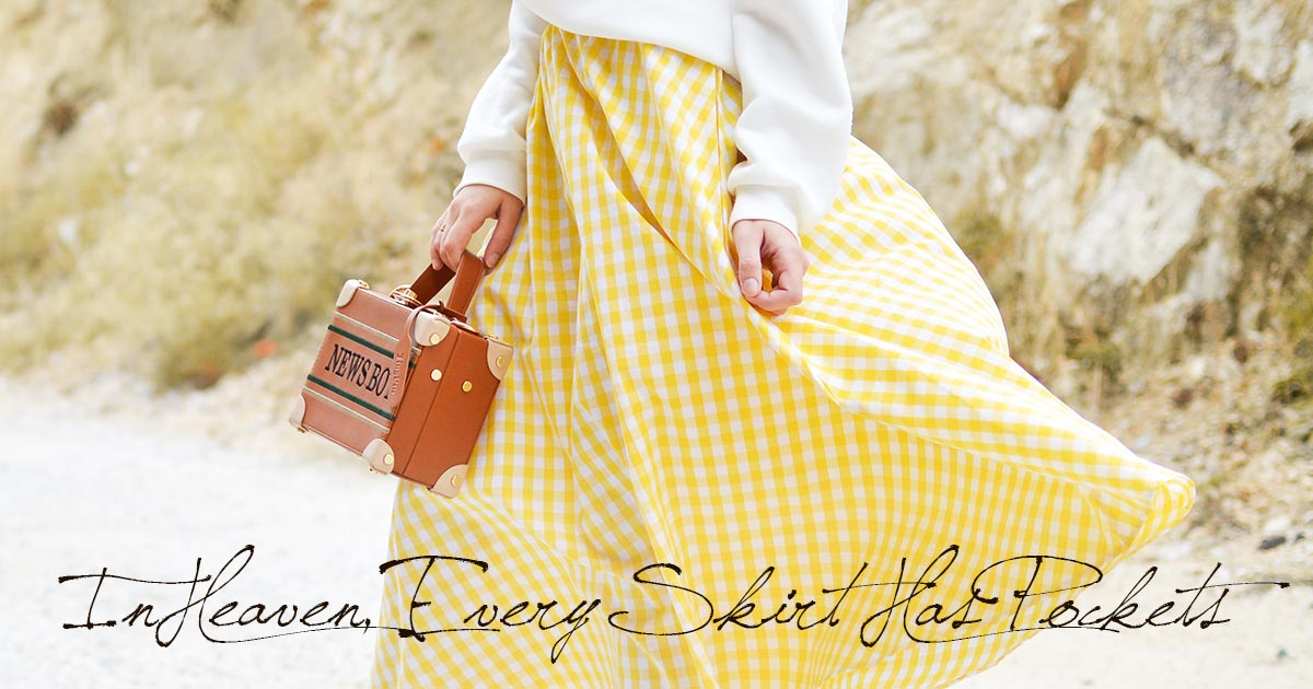 In Heaven, Every Skirt Has Pockets