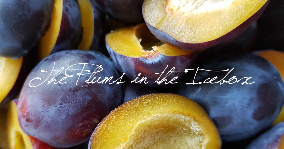 The Plums in the Icebox