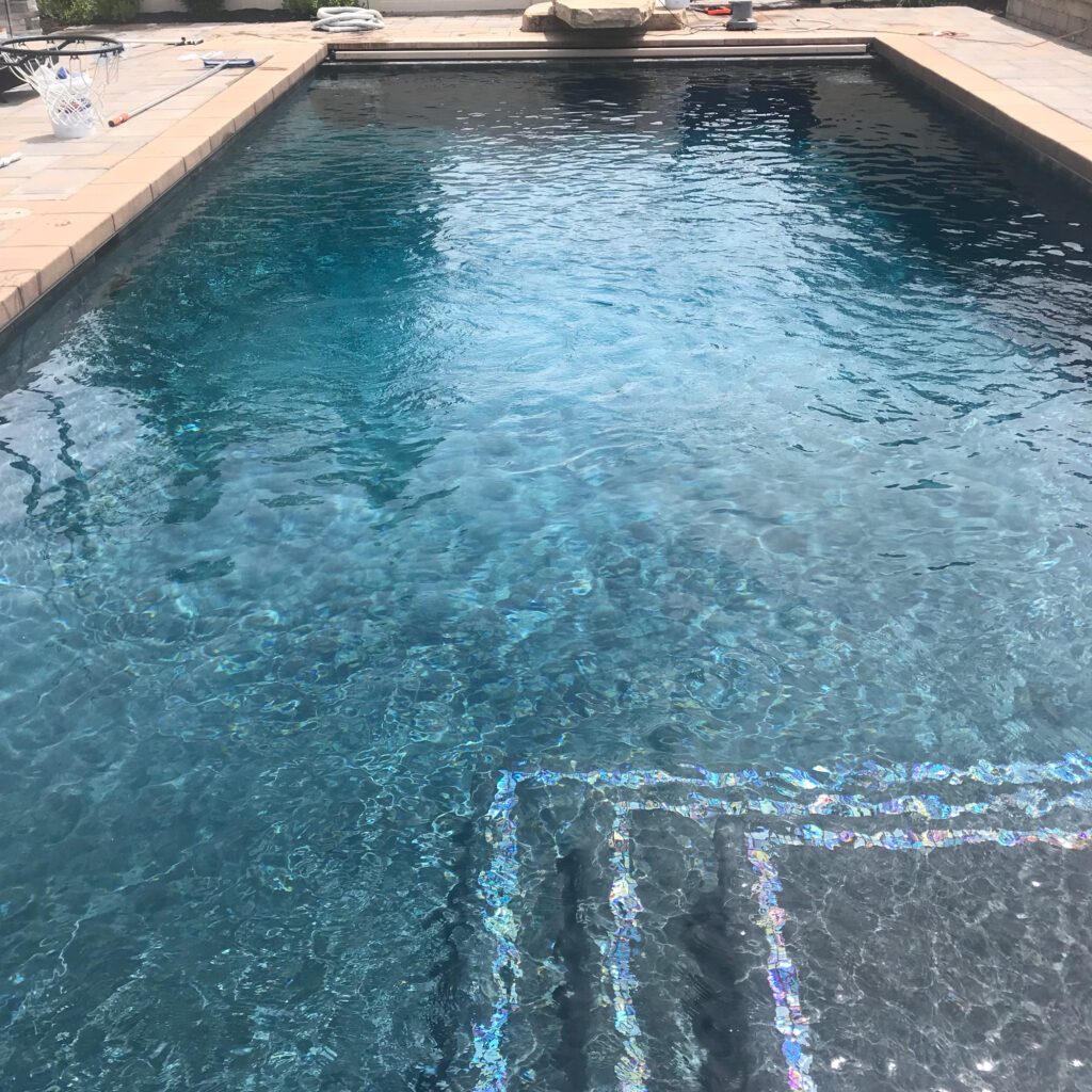 Clean Pool Opening