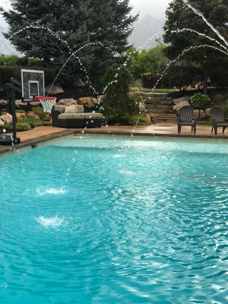 Pool Opening