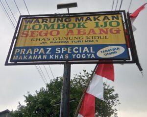Wisata Kuliner di Jawa Tengah sego abang jirak