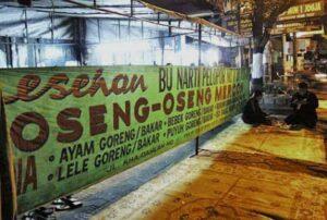 Wisata Kuliner di Jawa Tengah oseng mercon bu narti