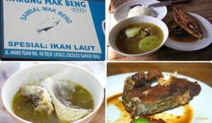 wisata kuliner  bali warung mak beng