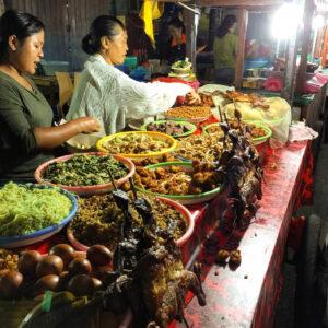 wisata kuliner bali pasar senggol