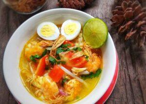 Makanan Khas Medan soto udang
