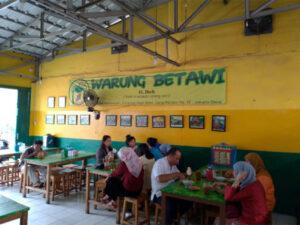 Wisata Kuliner di Betawi warung betawi h ibeh
