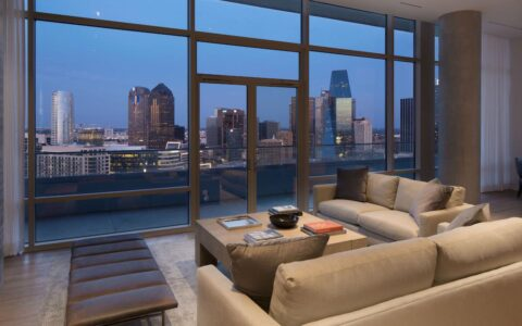 The W Dallas Residence Framing