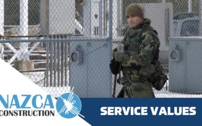 SERVICE VALUES