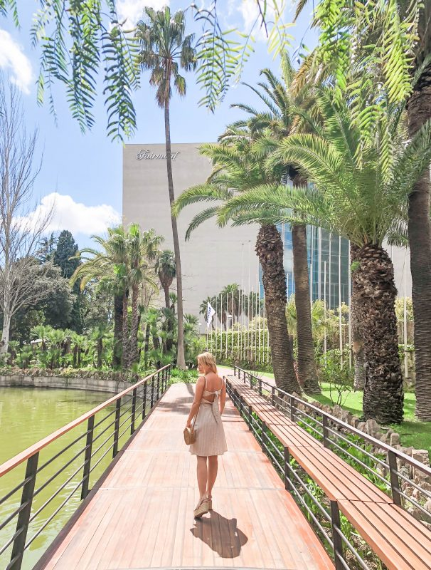 An Oasis in the Middle of Barcelona at Fairmont Rey Juan Carlos I
