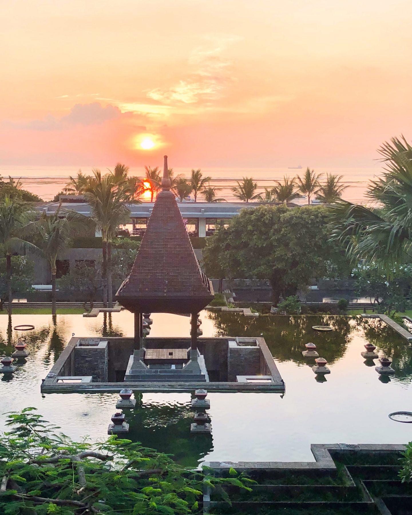 I Found the Best Sunrise View in Bali at Fairmont Sanur Beach