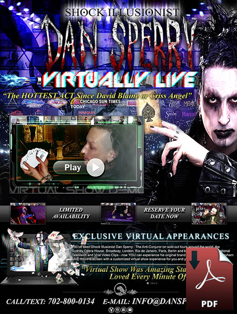 las vegas virtual magic show