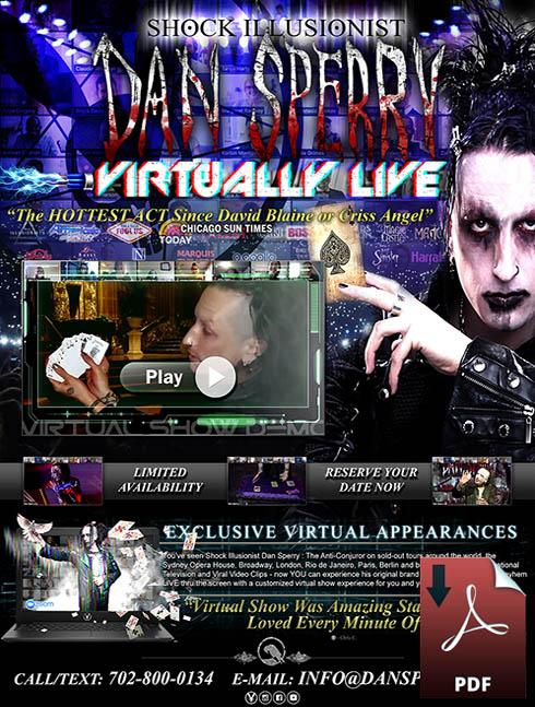 las vegas virtual magic show