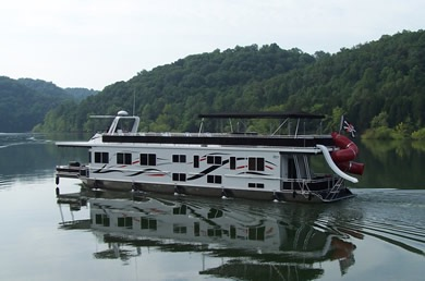 Black Pearl Dale Hollow Houseboat