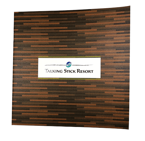 Talking Stick Resort Folder