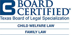 Board Certified Legal Specialization - Child welfare law, Family law