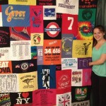 Swimming t-shirt quilt