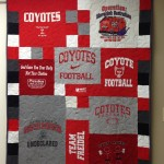 South Dakota t-shirt quilt
