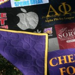 sorority t-shirt quilt