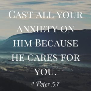 Cast your burdens upon the Lord