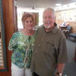 Interim Rev Shutske and his wife