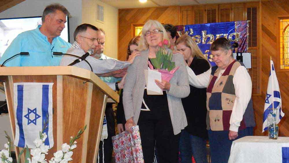 Adat Yeshua Messianic Jewish Congregation member birthday