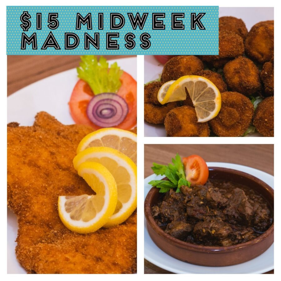 $15 MIDWEEK MADNESS!
