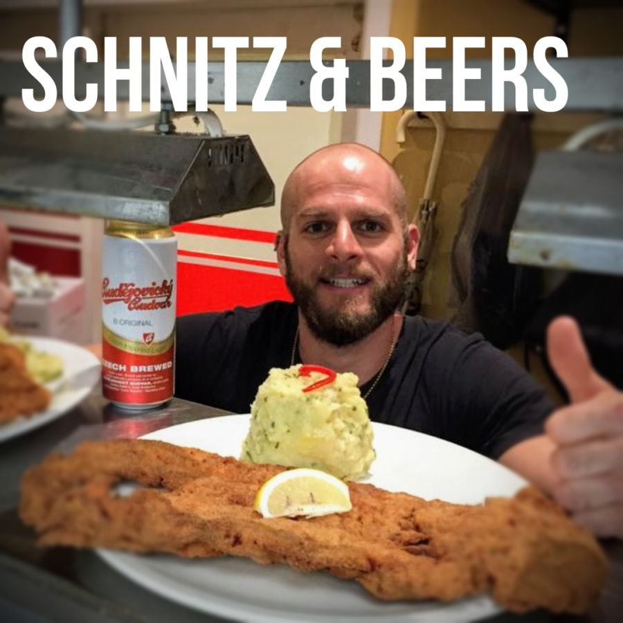 SCHNITZ + BEER FOR $23